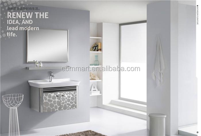 Piccolo moderno in vetro bagno pensile a08 armadietto id prodotto ...
