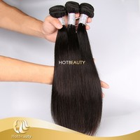 Cheap silky soft raw remy virgin peruvian human hair with large stock