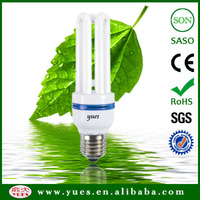durable cfl light bulb with price 2U energy saving light lamp from china
