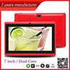 Shenzhen 7 inch mid cheapest tablet pc made in china Q88+WIFI+dual camera ZXS-Q88
