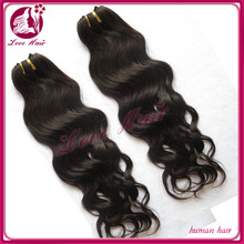 Soft and flexible fashion noble great hair 100% brazilian natural wave human hair braid hair extensions