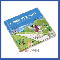 Softcover Paper Book Printing innovative book design