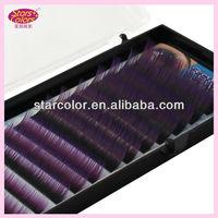 A1010 World Purple Beautiful Fake Eyelashes