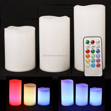 birthday/party/wedding/Tea time plastic Flameless led candle light