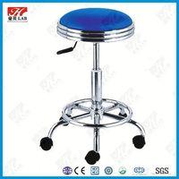 Laboratory chairs / Durable metal school lab stool
