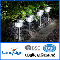 spike type led solar garden lights