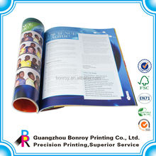 Custom printing offset magazines