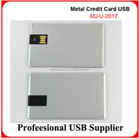 Metal Credit Card USB Flash Drive Memory Sticks Customised with Your Brand. Free Engraving and Print, Fastest Delivery,