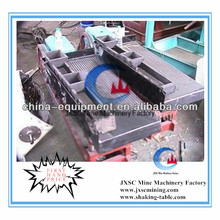 laboratory small size shaking table in mineral separator with smallest capacity