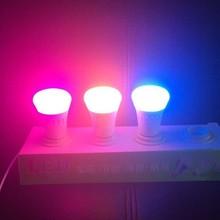 Hue system data 7W LED Bulb , wireless e27 mobile wifi led lamp