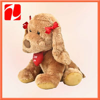 2014 stuffed dog new toys for christmas