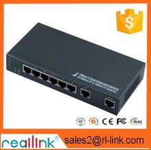 Reallink correlates of eight 24 v PoE switches, wireless AP AP AP into the wall suction a top special power supply