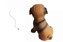 Custom plastic vinyl toys for pet dog vinyl dog's partner sounding toy squeaky safe pet toy