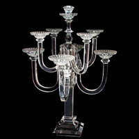 crystal candle light holder for weddings MH-Z0101