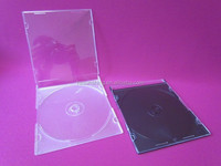 super clear slim cd case cd jewel case