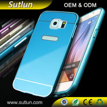 Luxury Slim Aluminum Metal Bumper Case Hard Back Cover For Samsung galaxy s3 s4 s5 s6 s6 edge note 2 3 4