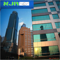 building exterior decorative laminated glass