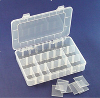 hard plastic tool case & small plastic case