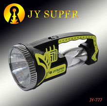 ningbo jinyan electronic co ltd JYSUPER flashlight led plastic torch rechargeable JY777