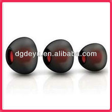 Double colors silicone Earphone tips for apple iphone