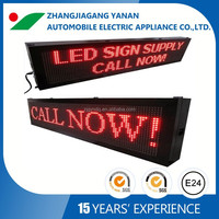 Rolling text message with E-MARK certification P10 bus Led display board