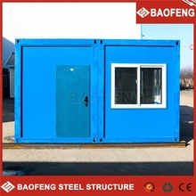 portable building fashionable design hydraulic system standard shipping container house