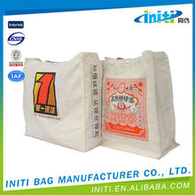 Promotional top quality wholesale stylish canvas tote bag