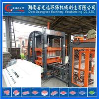 Precast Concrete Hollow Core Slab automatic brick block machine