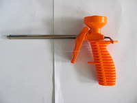 orange ,blue construction small tool plastic foam gun