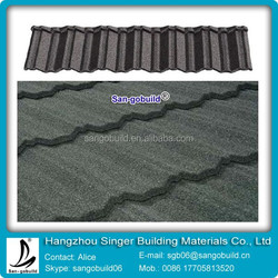 Stone coated metal roof tile/stone coated steel roof tile/ roof materials