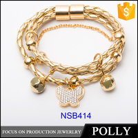 Hot Sell New Gold Bracelet Jewelry Design For Girls