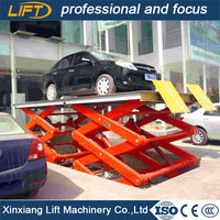 Alibaba golden supplier portable hydraulic scissor car lift
