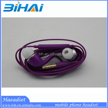 Various colors cheap high qualiry In ear earpieces for iPhone