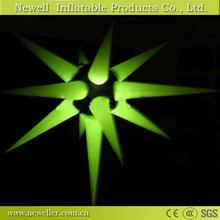 Hot selling event led inflatable star for rgb supply For Hotel Decoration