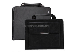 New arrival professional protective cases wholesale price for iPad Air 2 leather case,leather for ipad case HH-IP613-28