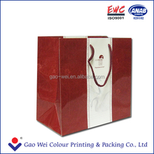 2015 BEST SELLING Custom Disposable Offset Printing Paper Shopping Bag