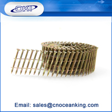 2015 New product galvanized 16 degree jumbo pallet coil nails