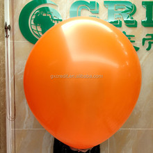 "36"" big balloon latex balloon with round/ heart shape for advertising"