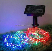 Promotional solar board led lights christmas for outdoor used
