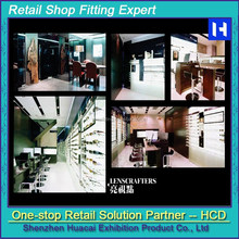 retail store furniture: display racks for sunglasses, display stand for eyewear
