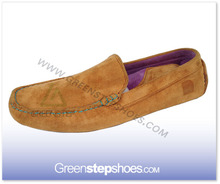 Men fancy comfortable cow suede leather loafer shoes