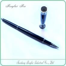 black desk ball pen/stand ballpoint pen/table pen holder
