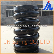 Heavy duty equipment springs large coil spring