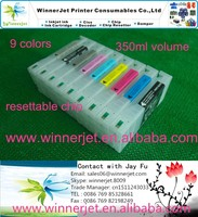 350ml empty printer ink cartridge resettable chip for epson 7890