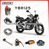 all of YBR125 motorcycle parts for yamaha
