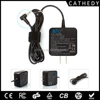 19v 1.58a Mini laptop charger for asus eee pc
