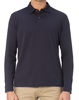 soft woolen thermal long sleeve polo shirt