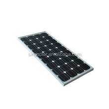 100W high quality and efficiency solar module/solar panel in China
