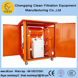 ZYA300 dehydrating vacuum transformer oil distillation machine