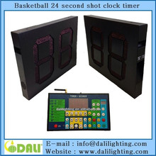 led shot clock and time for basketball with alarm